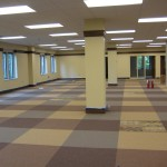New Carpet Installed on the First Floor