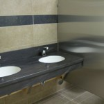 New Sinks in Refurbished Bathrooms